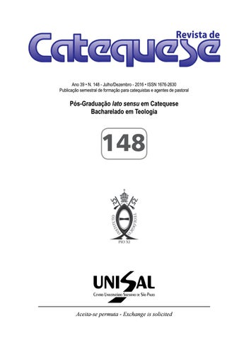 4b4c64796 148 revista de catequese by UNISAL - issuu