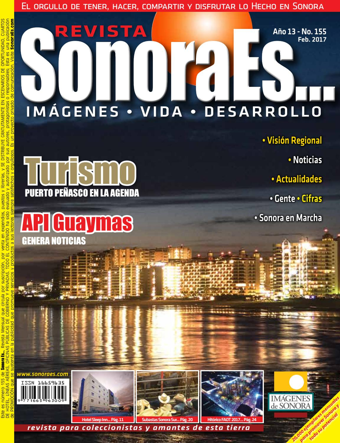 Revista Sonoraes    Se155 Feb  2017 By Imagenes De Sonora
