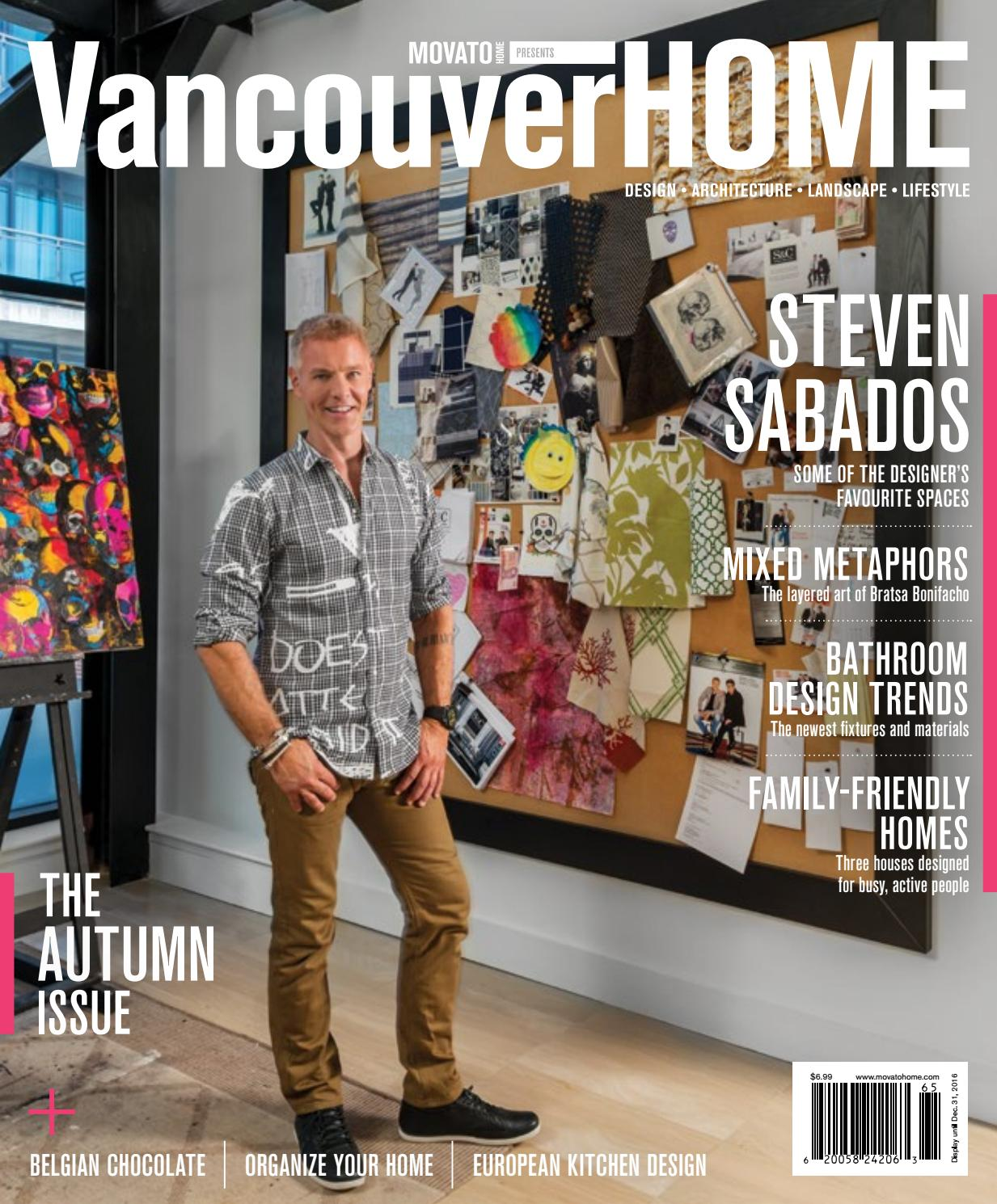 Vancouver Home Autumn 2016 By Home In Canada Design