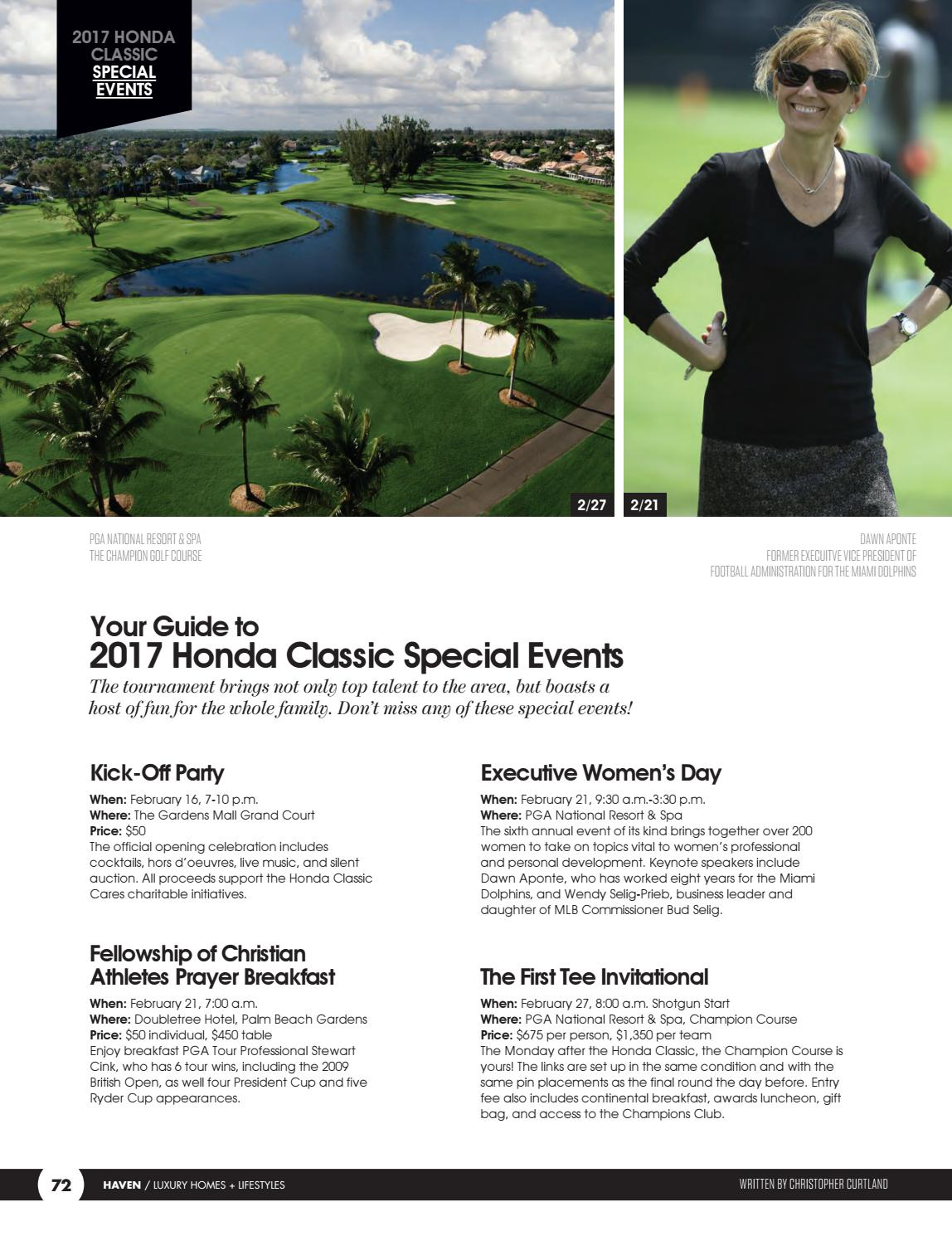 Haven Palm Beaches 2 17 The Honda Classic Edition Vebuka Com