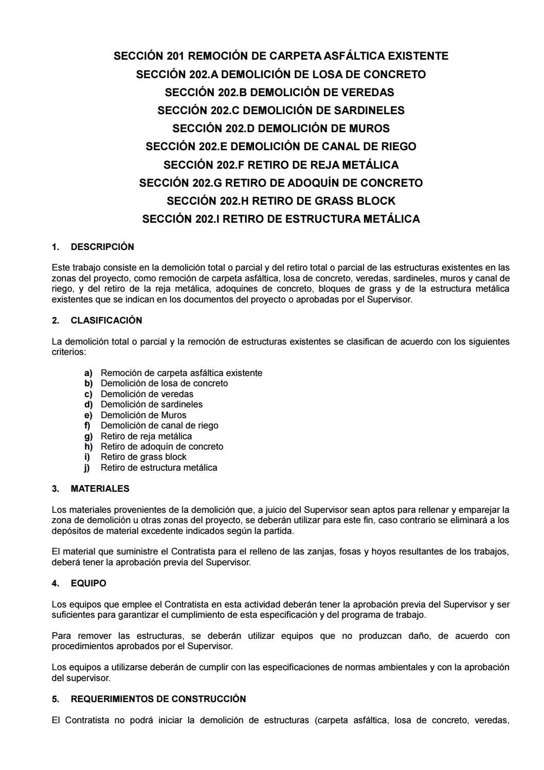 58637766 200 Demoliciones Y Remocion By Fid Dominguez G Issuu