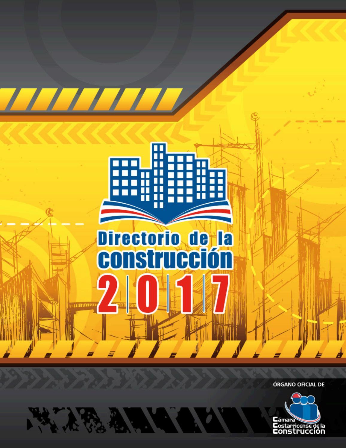 Directorio De La Construcci N 2017 By C Mara Costarricense De La  # Muebles Plaza Viquez