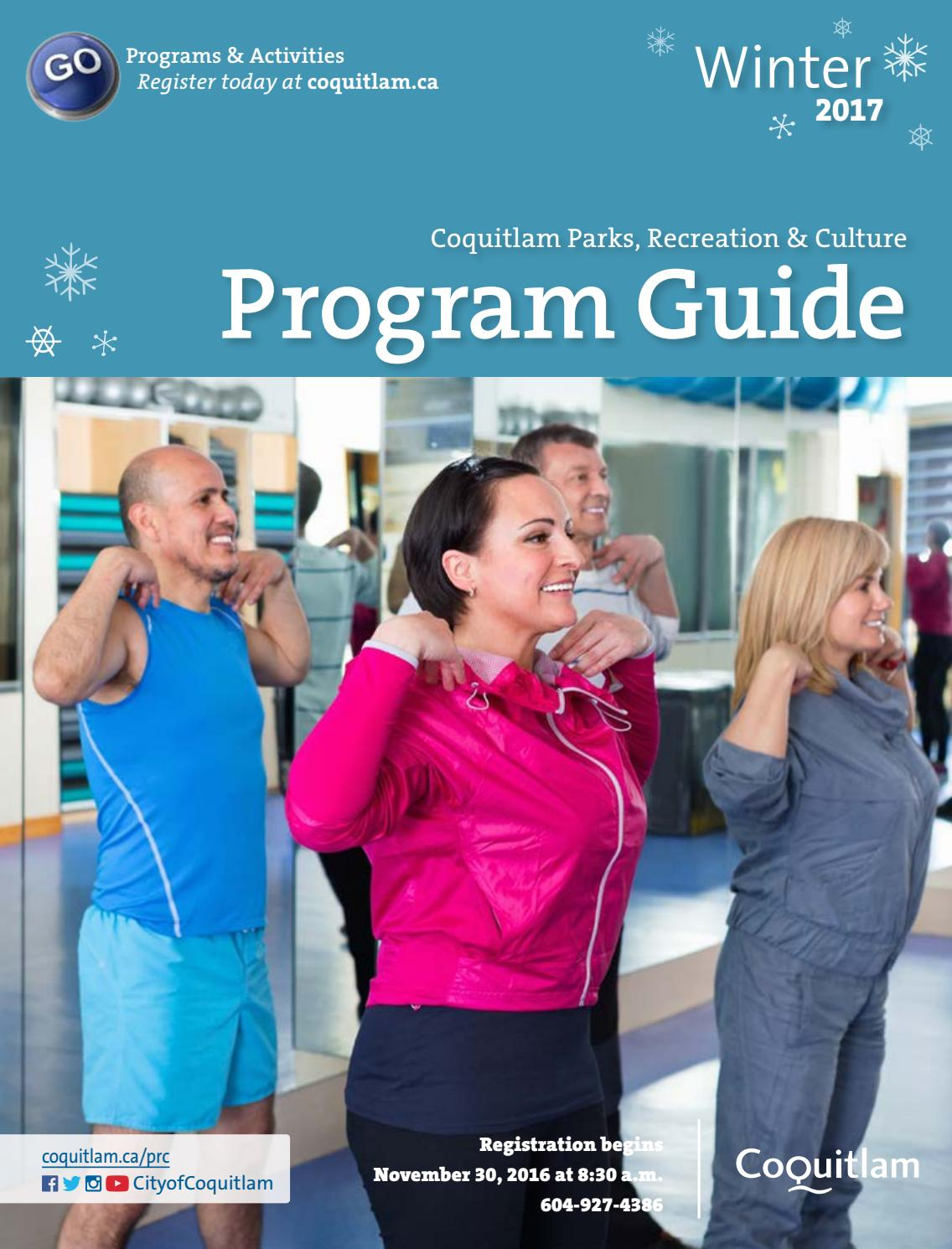 2017 Winter Program Guide by City of Coquitlam - issuu