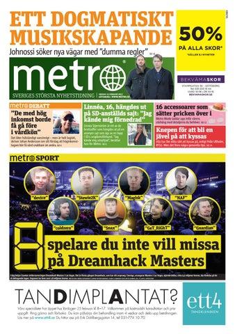 20170215 se goteborg by Metro Sweden - issuu 89ec1988c2f6b