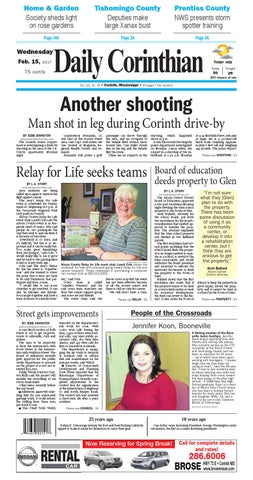 021517 Daily Corinthian E Edition By Daily Corinthian Issuu