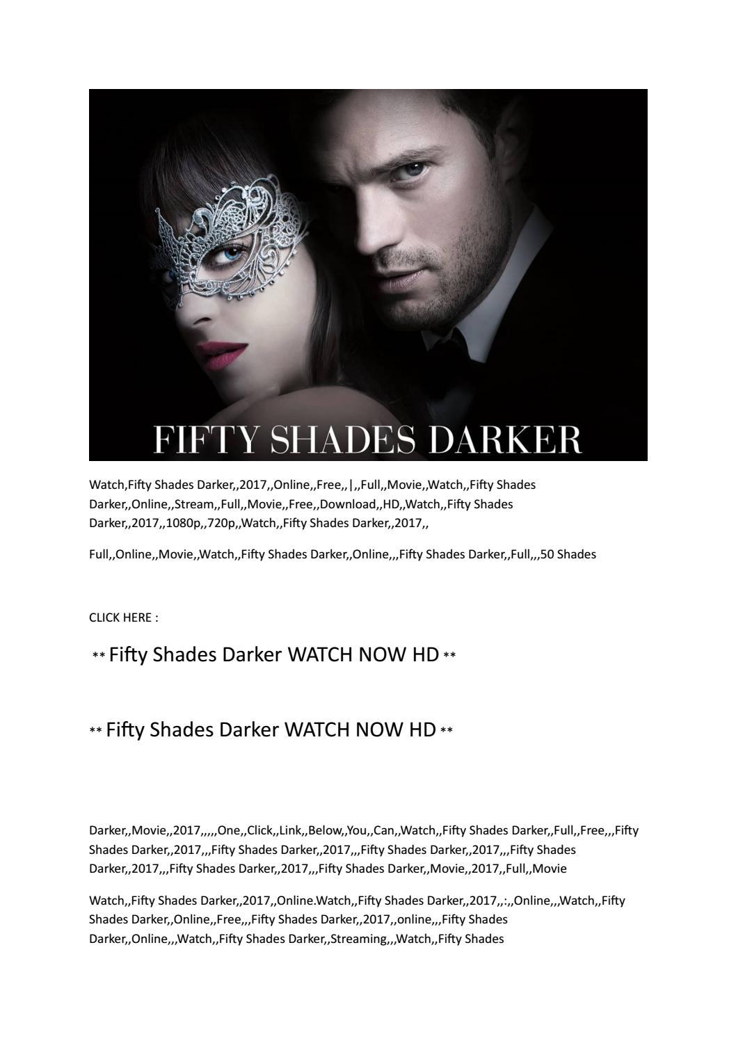 Imdb 50 Fifty Shades Darker Movie Full Online Hd 2017 Megashow By Lamborgu Issuu