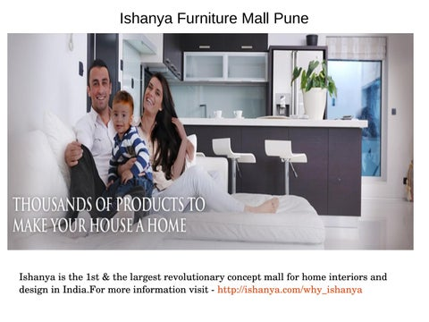 Ishanya mall home decor shops in pune by Ishanya Mall issuu