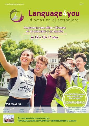 b75de0fbf Catálogo 2017 Language4you Idiomas en el extranjero by language4you ...