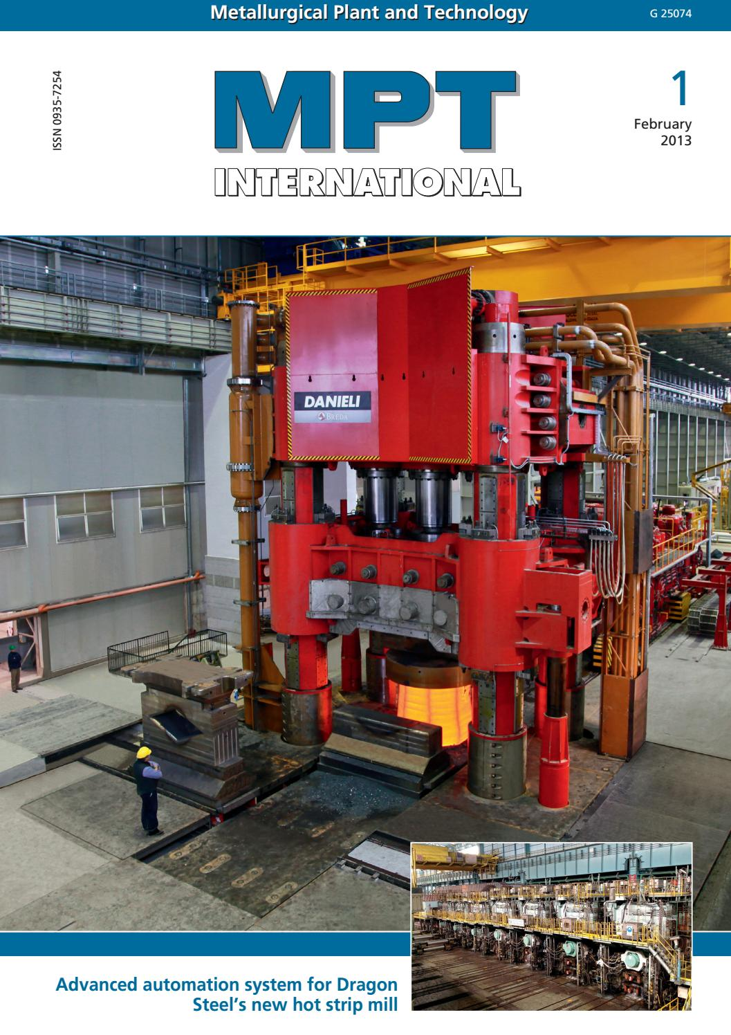 Mpt International 1 2013 Feb By Metallurgical Plant And Toshiba G7 Asd Wiring Diagram Technology Issuu