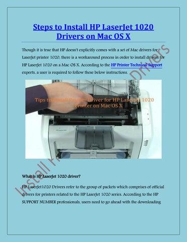 Image of laser printer hp 1020 driver download