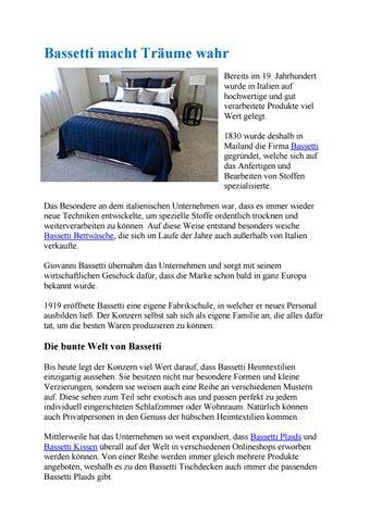 Bassetti Bettwäsche Und Mehr