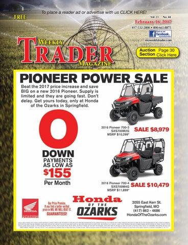 weekly trader february 16 2017 by weekly trader issuu rh issuu com 2013 Toyota Avalon Toyota FR-S