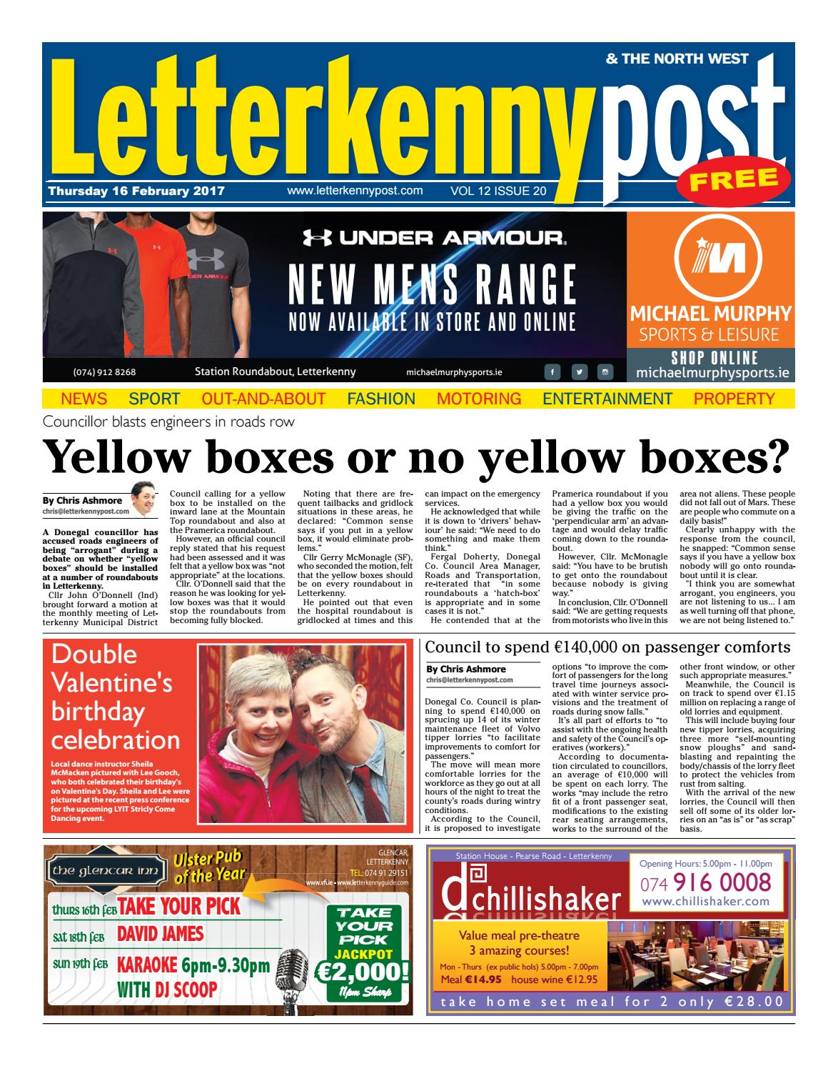 Letterkenny Post 16 02 17 By River Media Newspapers Issuu
