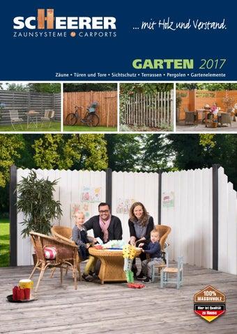 GARTEN 2017 Zäune U2022 Türen Und Tore U2022 Sichtschutz U2022 Terrassen U2022 Pergolen U2022  Gartenelemente