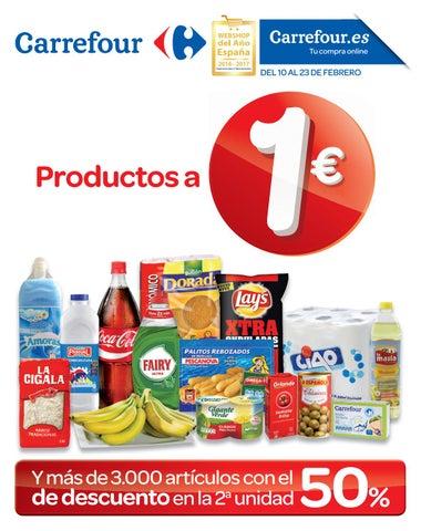 A Issuu Productos 1€ By Supermercados Carrefour Ofertas ED2IHW9
