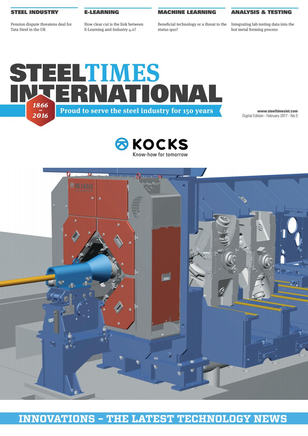 Steel Times International Digital February 2017 by Quartz