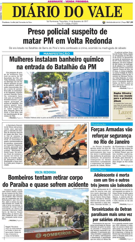 717a5c4ffee14 8293 diario do vale terca feira 14 02 2017 by Diário do Vale - issuu