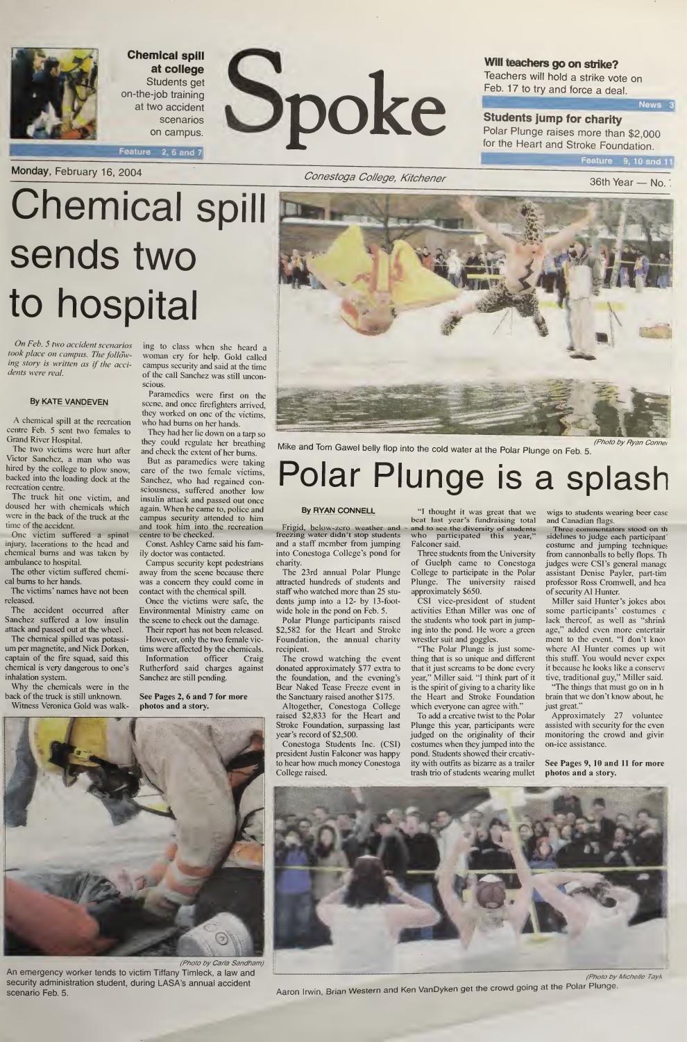 Digital Edition - February 16, 2004 by SPOKENewspaper - issuu