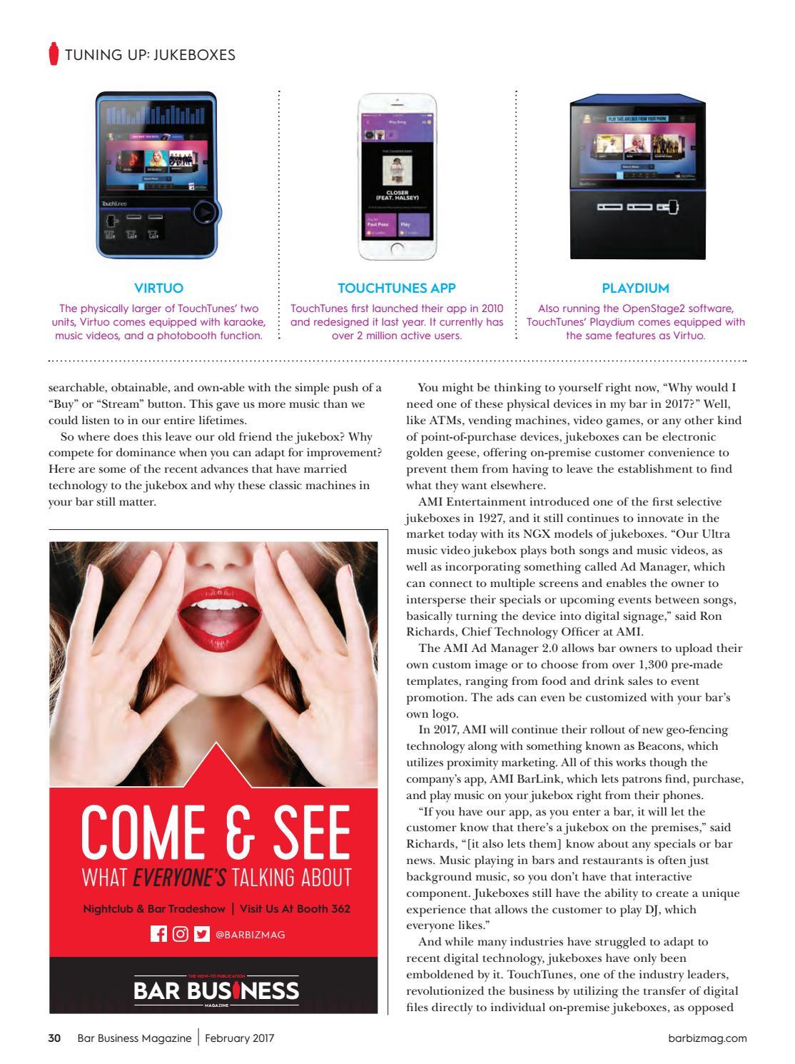 February 2017 Bar Business by Bar Business Magazine - issuu