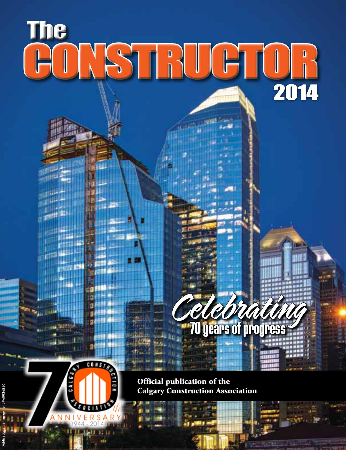 The Constructor 2014 by The Constructor - issuu