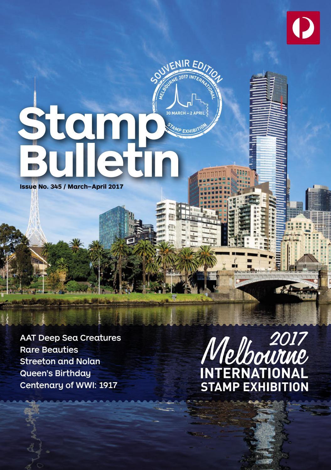 Stamp bulletin 345 by Australia Post - issuu