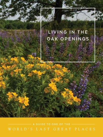 Living in the oak openings by metroparks of the toledo area issuu page 1 fandeluxe Images