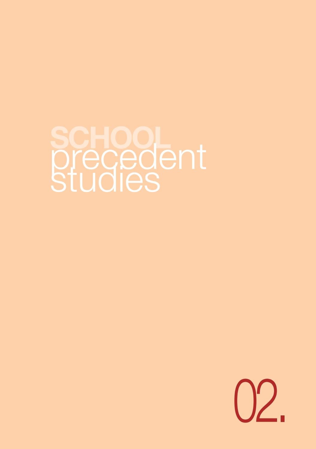 2 precedent studies by School.Arch - issuu