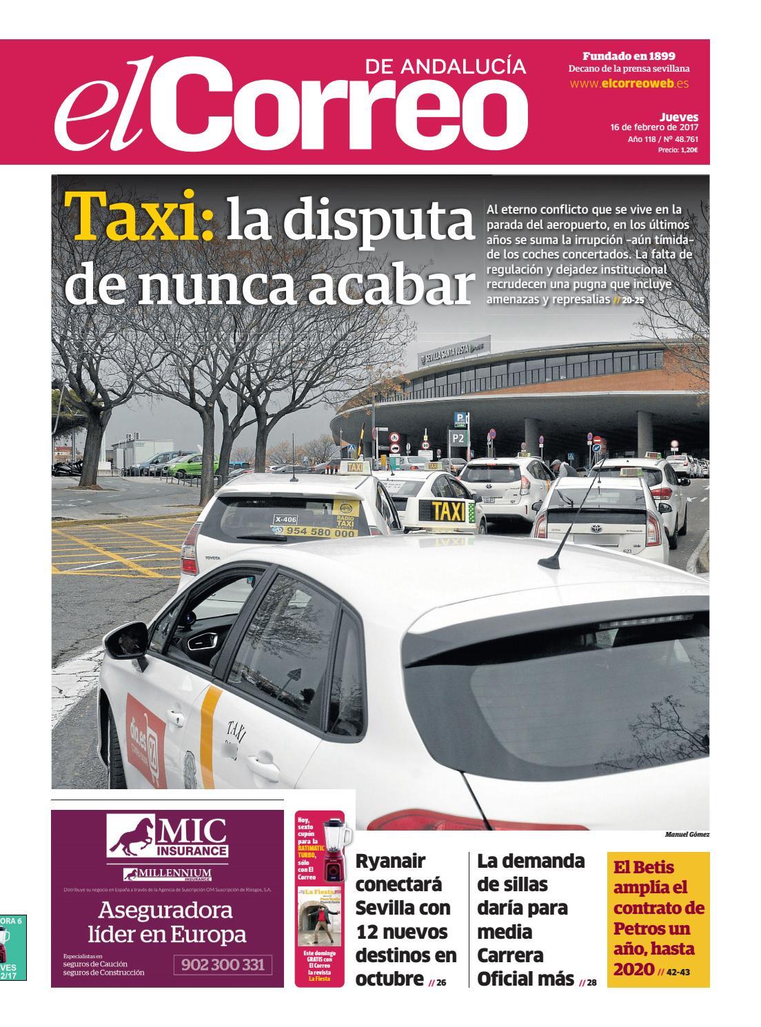 16 02 2017 El Correo de Andalucía by EL CORREO DE ANDALUCÍA S.L. - issuu