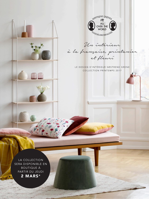 Fr le design d int rieur s strene grene collection for Catalogue design interieur