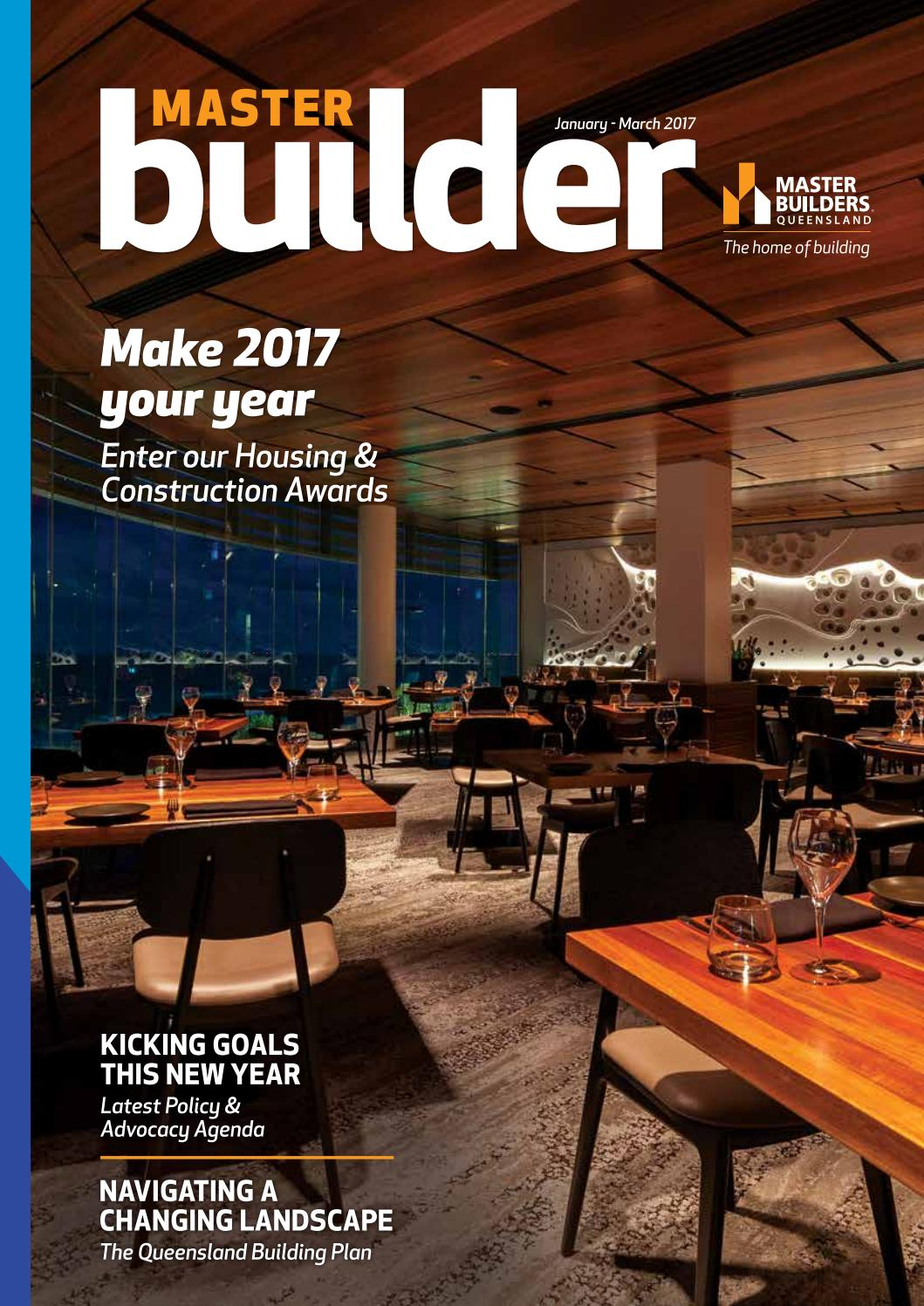 Colorbond sheets brisbane - Master Builder Magazine January March 2017 By Master Builders Queensland Issuu