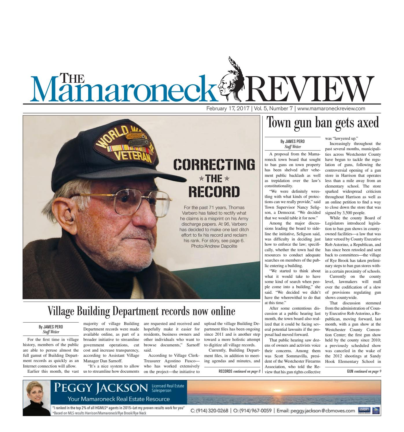 February 17, 2017 by The Mamaroneck Review - issuu