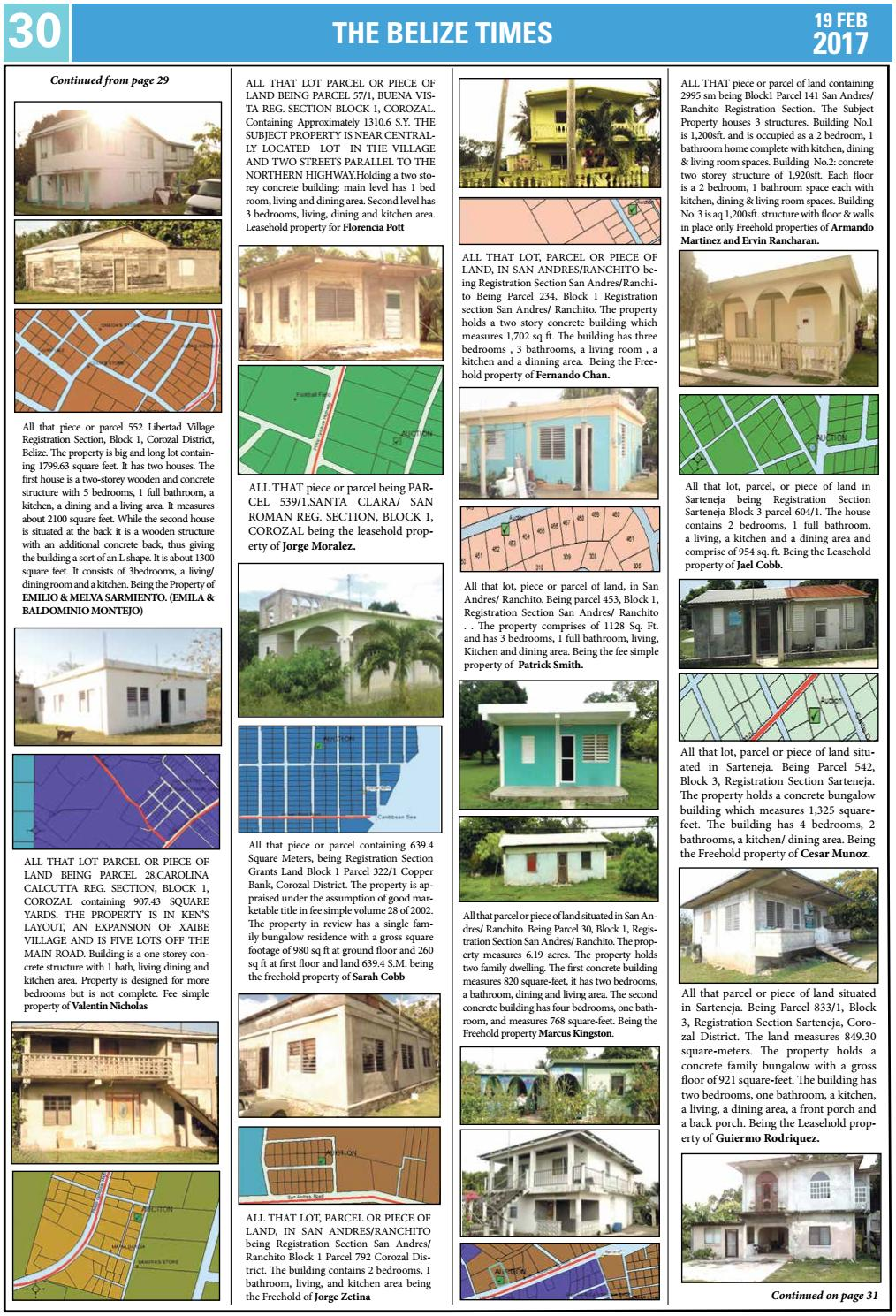 Belize Times February 19, 2017 by Belize Times Press - issuu