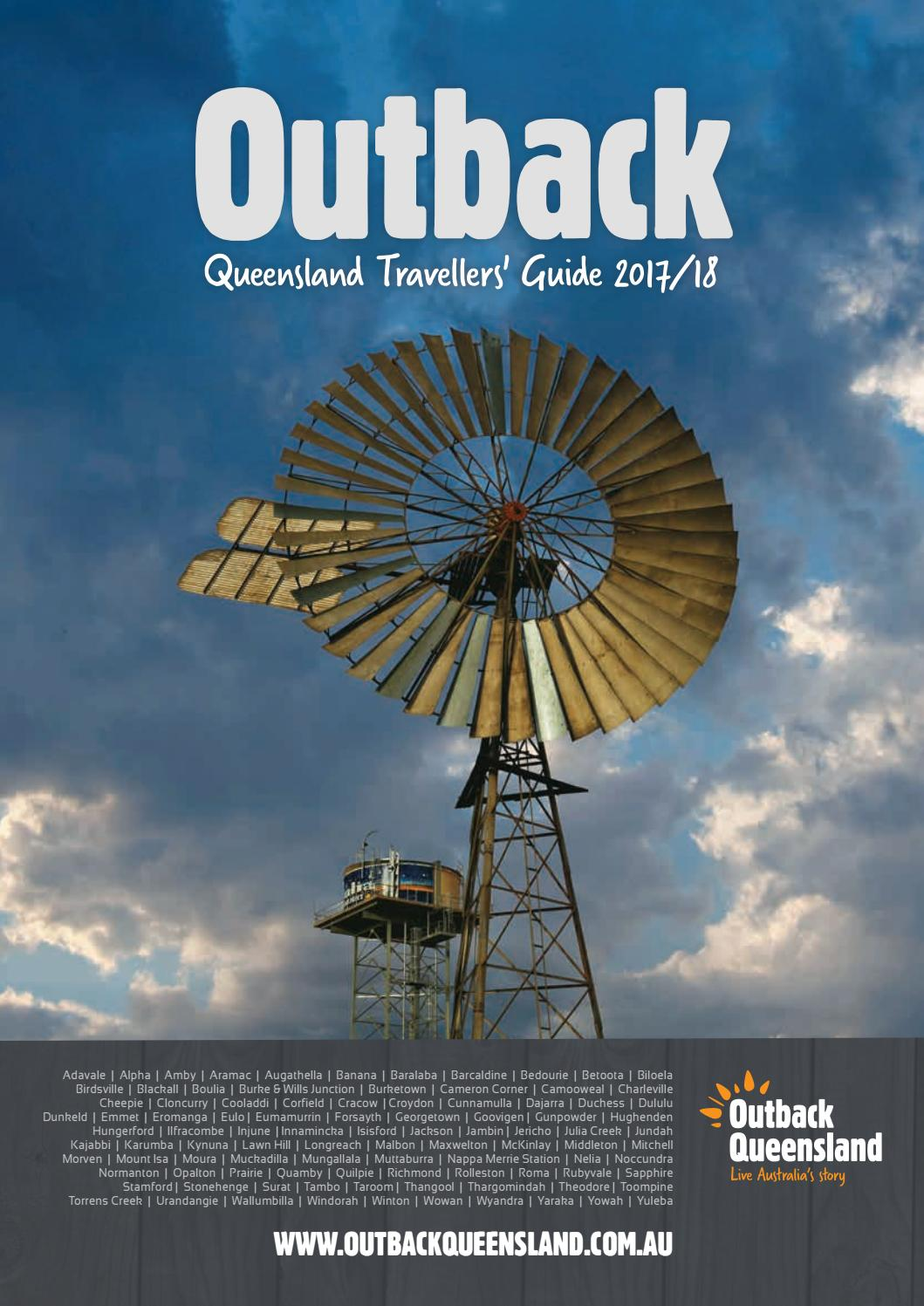 Outback Travellers Guide 2017 Issuu By Vink Publishing Sadel Vello 1353