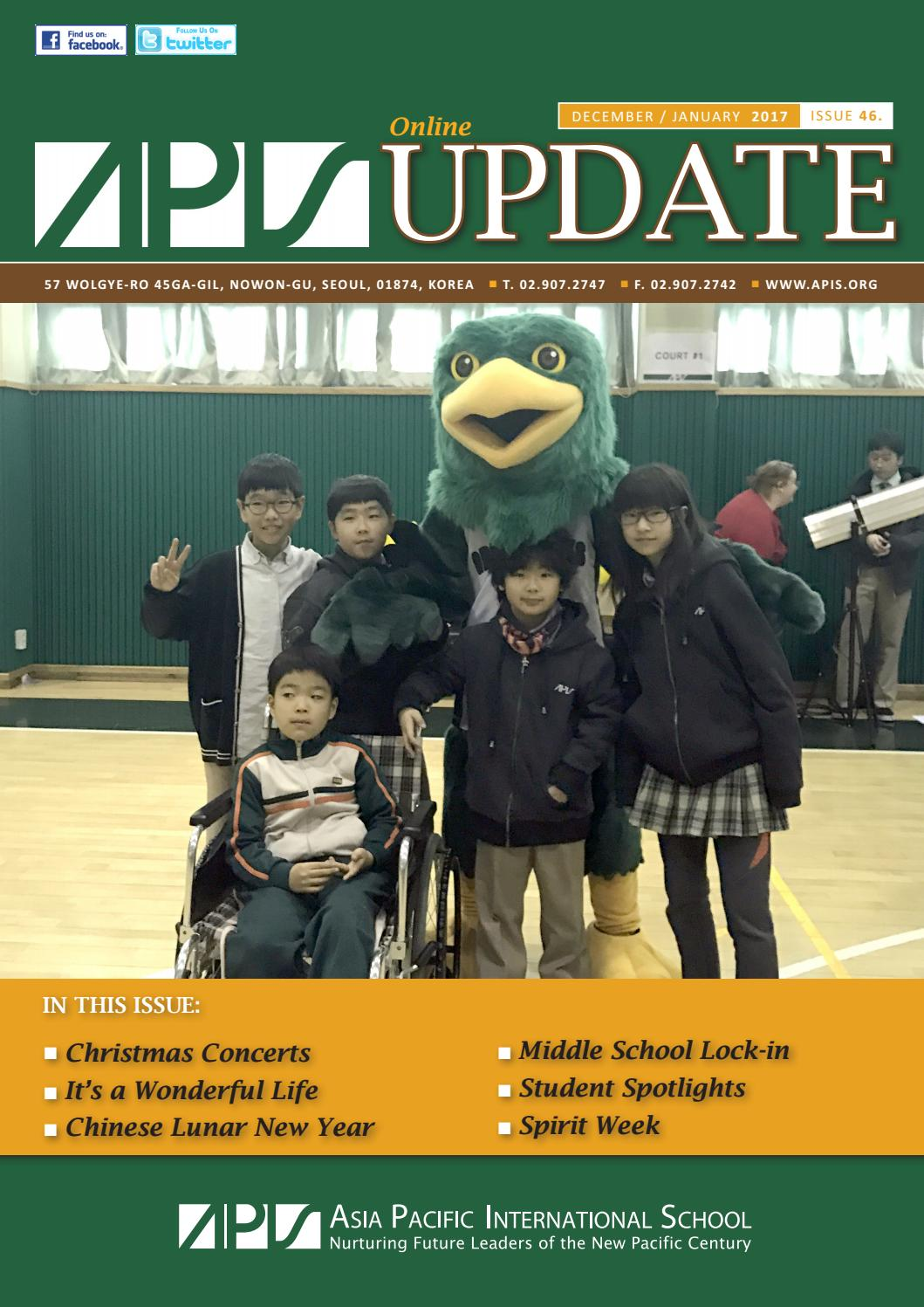 Issue 46 APIS Online Update Dec Jan 2017 by Asia Pacific