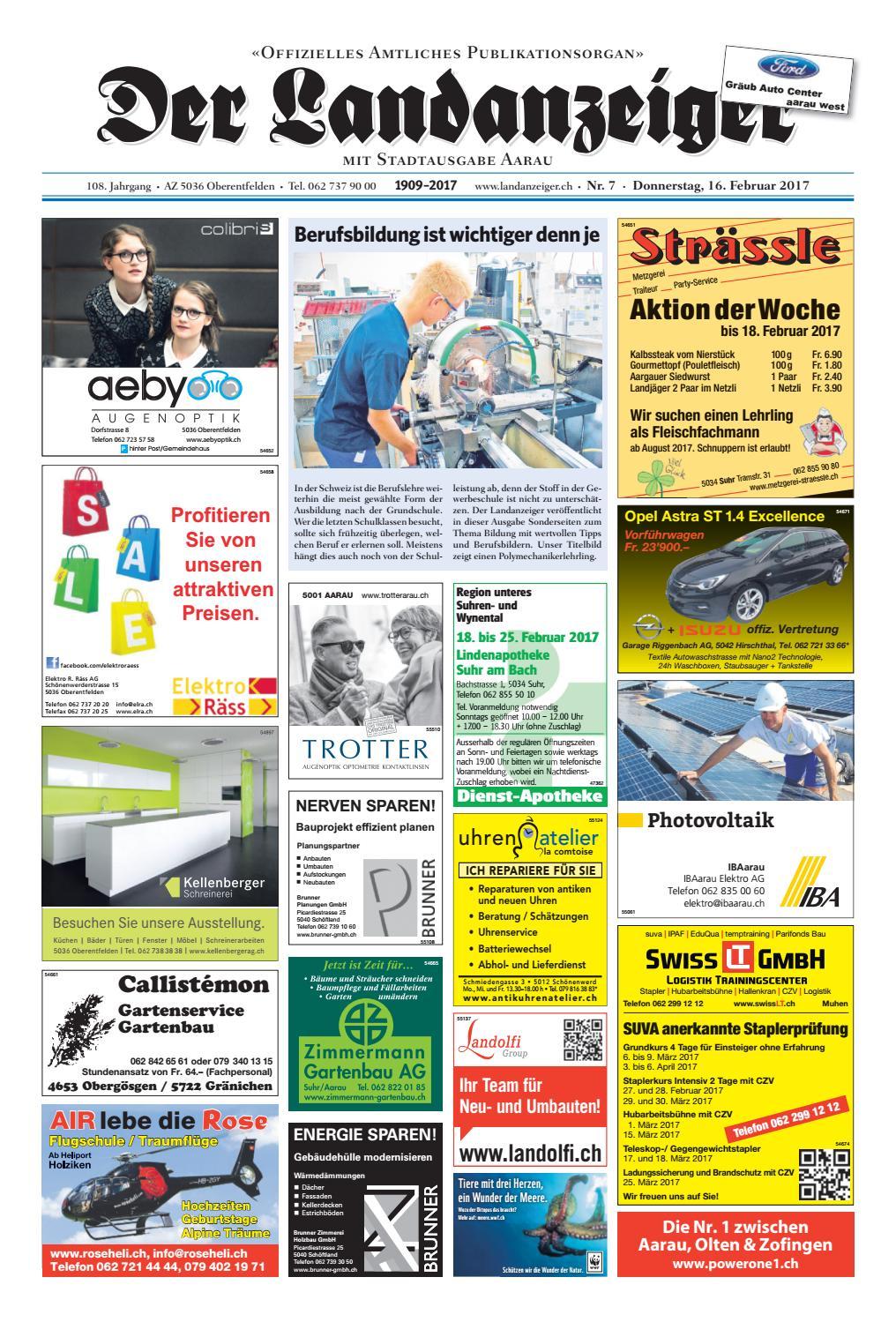 Der Landanzeiger 07 17 By ZT Me N AG Issuu