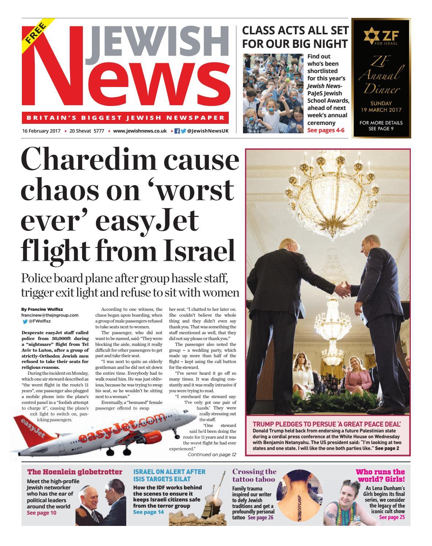 Jewish News issue 990 by Jewish News - issuu 3206e4c5a5182