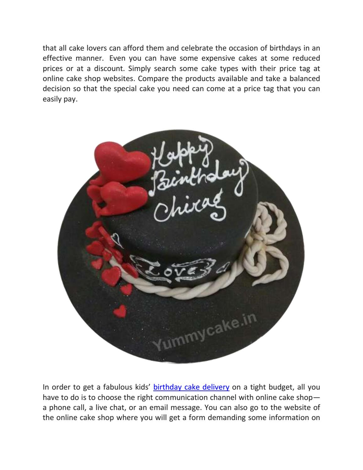 Miraculous How To Get A Fabulous Kids Birthday Cake By Yummycake Issuu Funny Birthday Cards Online Hendilapandamsfinfo