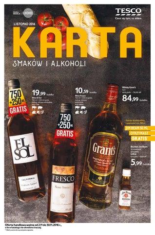 Karta Alkoholi Listopad 2016 By Sofastudio Issuu