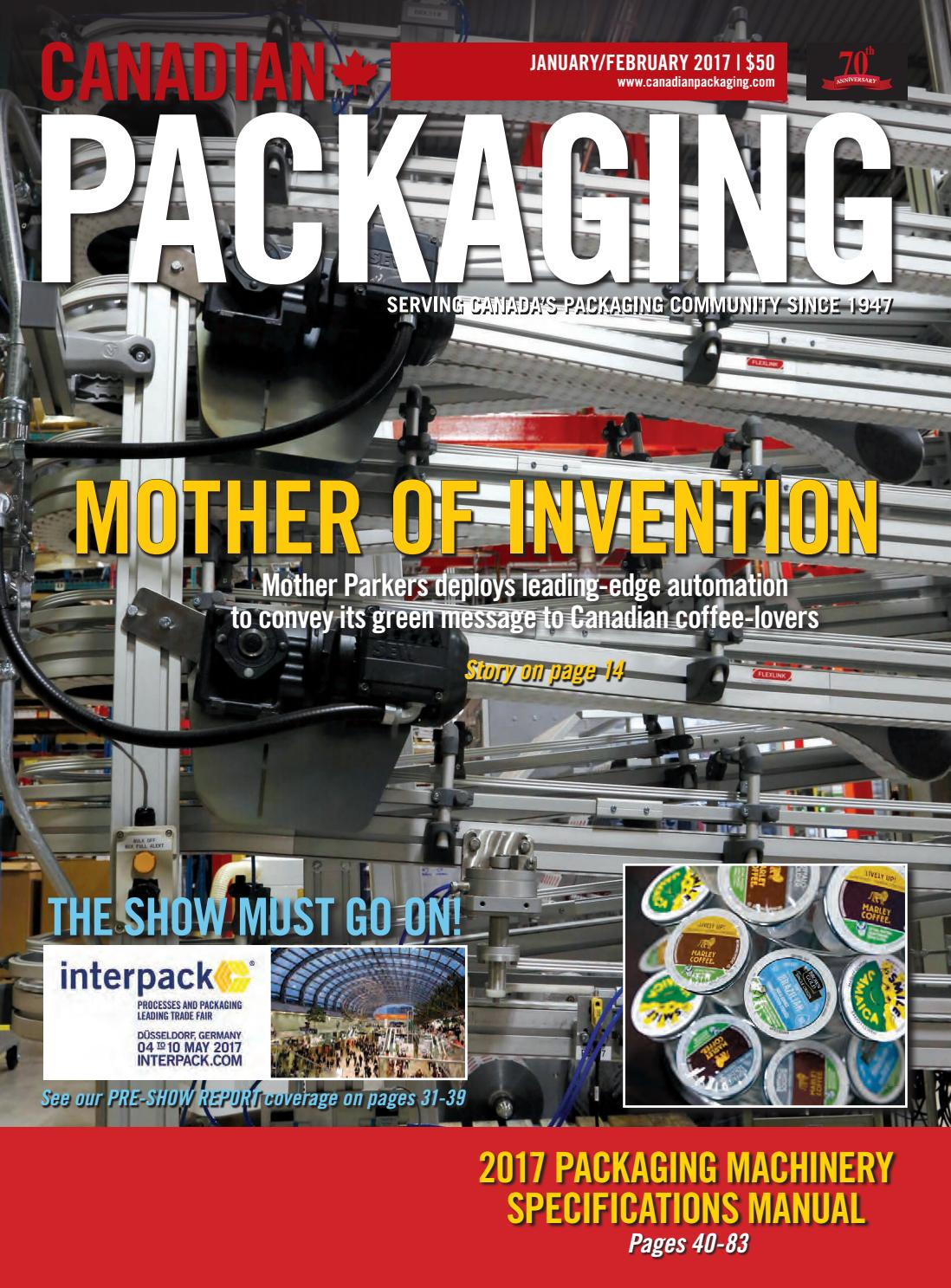 Canadian Packaging January February 2017 By Annex Business Media Issuu Power Inserters Couplers Rlh Industries