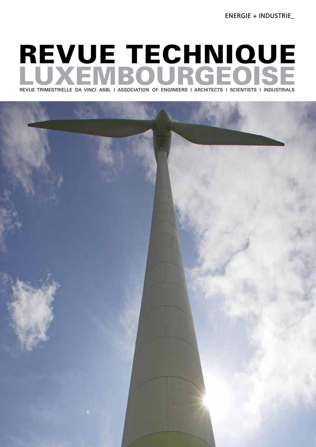 Rt 2016 04 by Revue Technique Luxembourgeoise - issuu