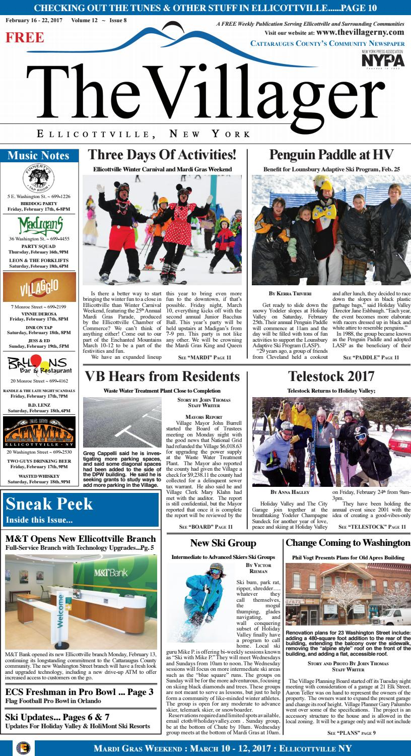 The villager ellicottville february 16 22, 2017 volume 12 issue 8 by ...