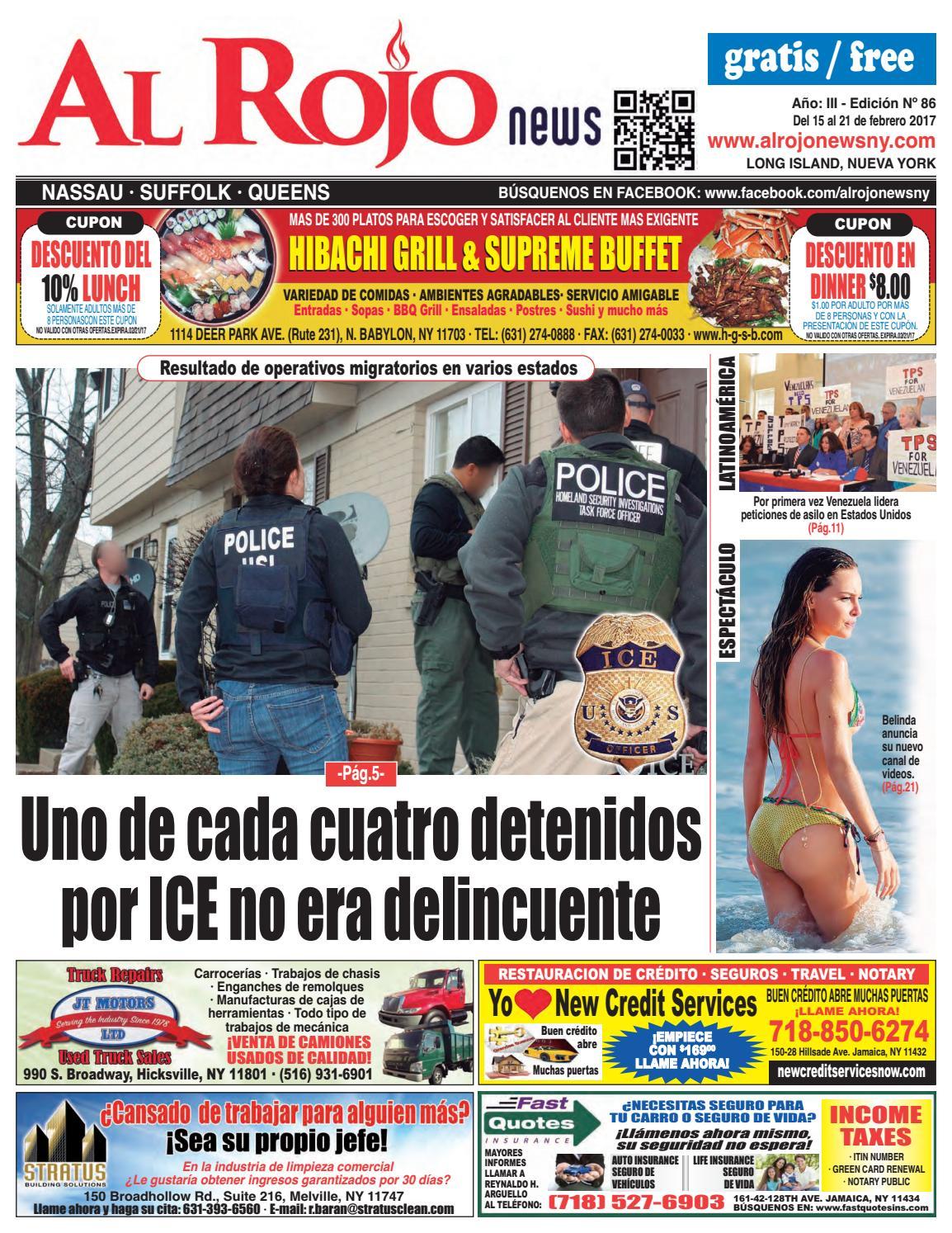 Al Rojo News año III edición 86 by Jose Rivas - issuu