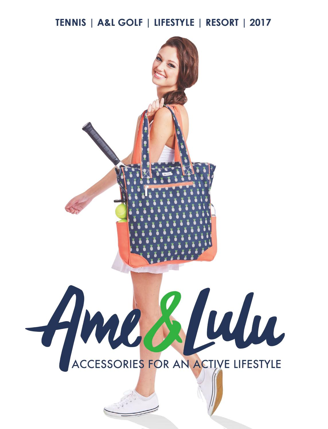 Ame /& Lulu Riley Racquet Cover