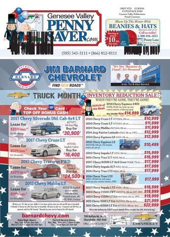 the genesee valley penny saver oatka edition 2 17 17 by genesee rh issuu com
