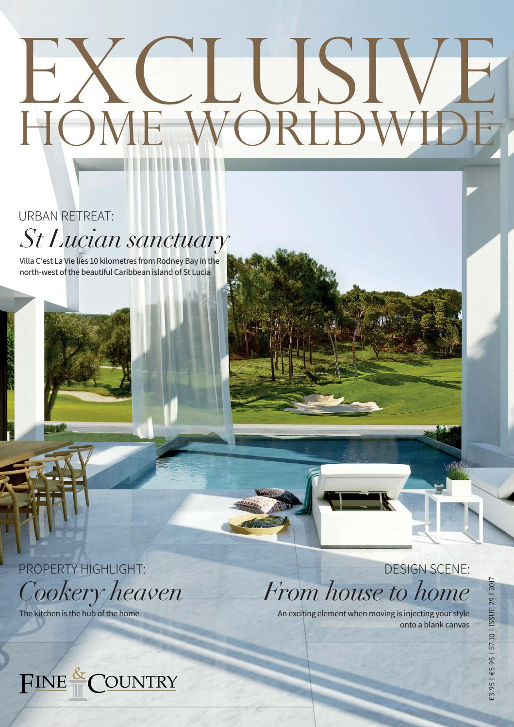 Exclusive Home Worldwide Issue 29 2017 by Fine & Country - issuu