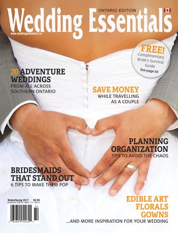 8575cda90c6022 2017 Winter Spring Wedding Essentials Newsstand Edition by Wedding ...