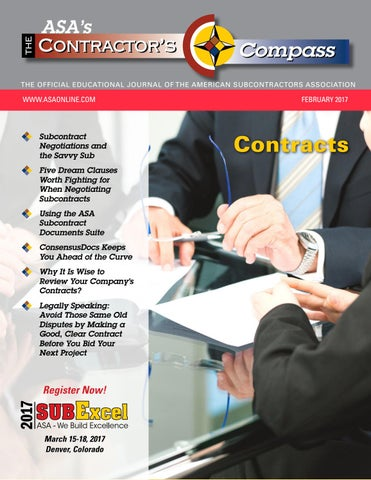 The Contractor's Compass February 2017 by American