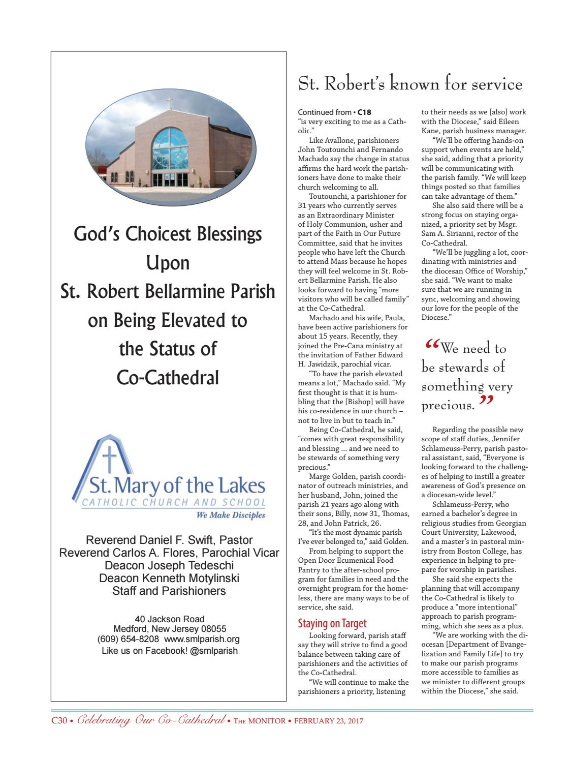 Celebrating Our Co-Cathedral Monitor Special Supplement by