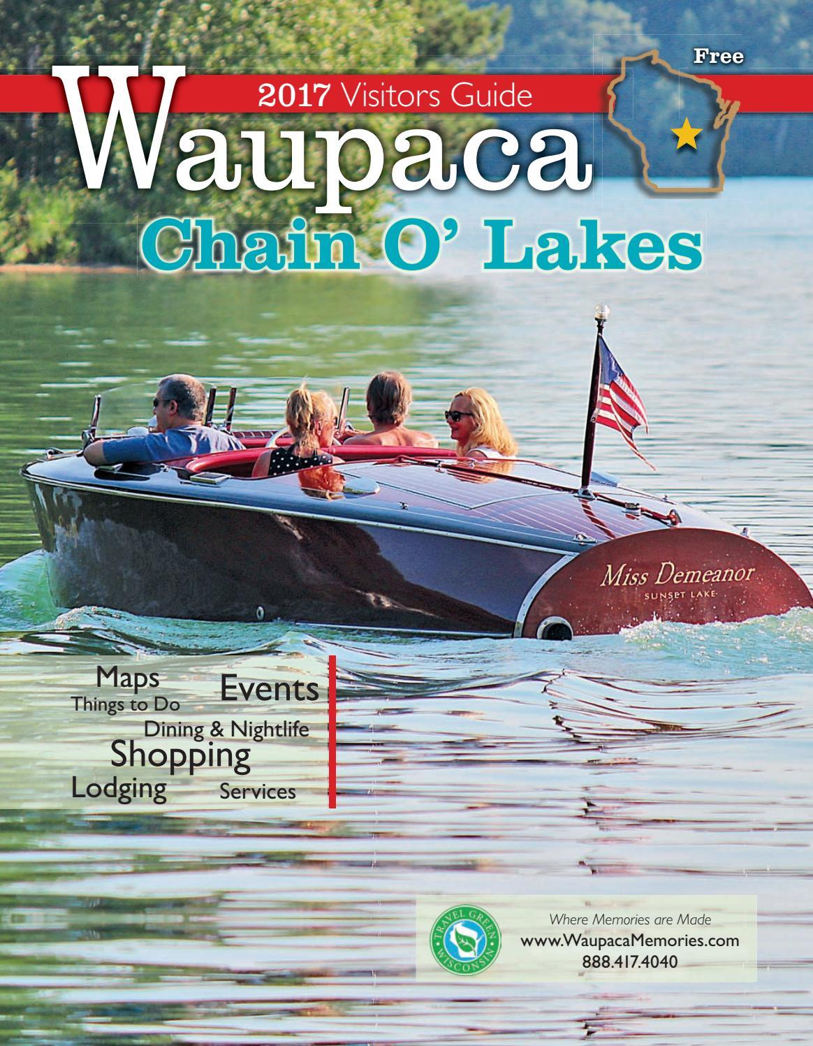 Waupaca Chain O' Lakes Area 2017 Visitor Guide by Waupaca Area ...