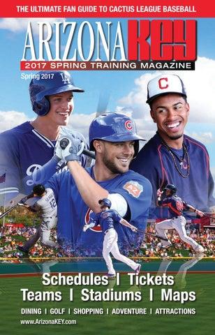 83df12759 2017 Cactus League Spring Training Guide by Arizona KEY Travel ...